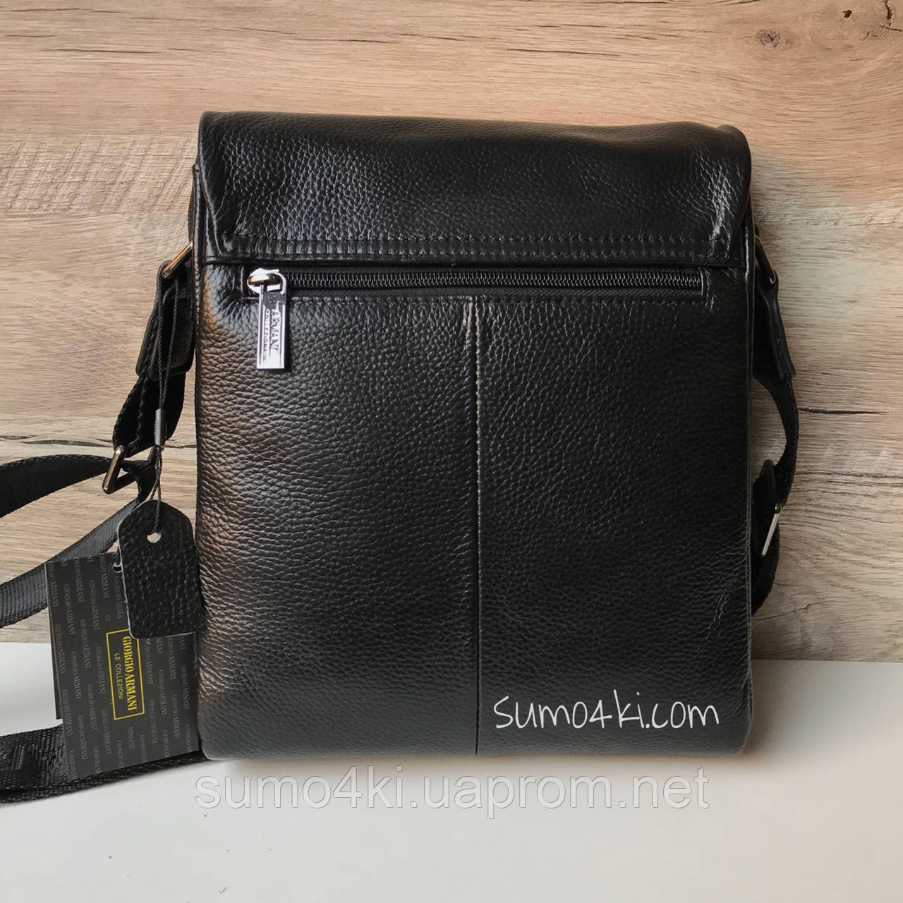 33acb5b0090f Мужская кожаная сумка через плечо Armani Армани, цена 1 550 грн., купить в  Одессе — Prom.ua (ID#628261134)