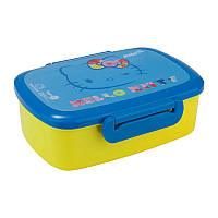 Ланч бокс Hello Kitty с наполнением желто-голубой (HK17-163)