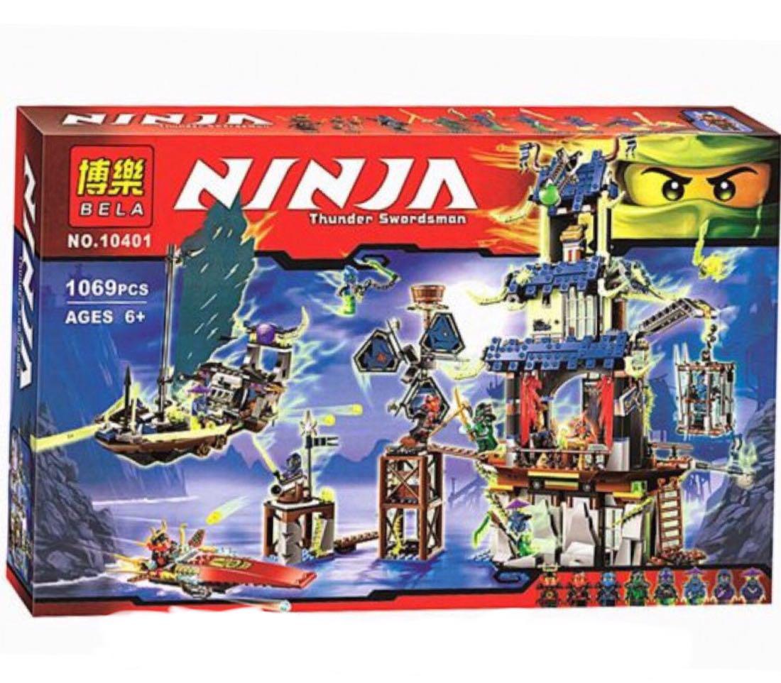 """Конструктор Bela """"Ninja"""" 10401 Призрачный город Стикс 1069 деталей"""