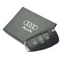 USB флешка с логотипом Ауди Audi в подарочной коробке 8 ГБ, фото 1
