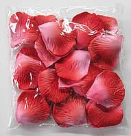 Лепестки роз красно-розовые (600 шт)
