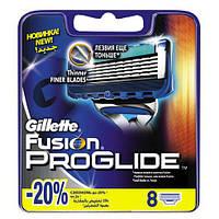 Gillette Fusion Proglide 8 шт. в упаковке сменные кассеты для бритья, оригинал