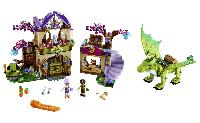 """Игрушка детский конструктор Bela Fairy 10504 аналог Lego Elves 41176 """"Секретный рынок"""", 694 деталей"""