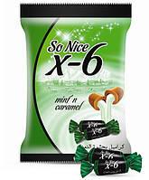 So Nice X-6 Mint Caramel карамель ирис с мятной начинкой