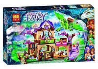 """Игрушка детский конструктор Bela Fairy 10504 аналог Lego Elves 41176 """"Секретный рынок"""", 694 дет."""