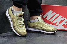 "Кроссовки мужские Nike air max 97, ""золотые"", фото 2"