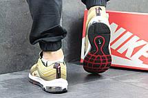 "Кроссовки мужские Nike air max 97, ""золотые"", фото 3"