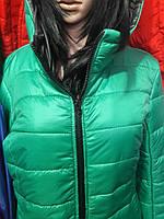 Зимние куртки пуховики женские. Пуховик длинный (188) Код:50406576