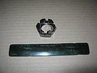 Гайка М24 корончатая пальца рулевого МАЗ, КРАЗ (Производство Прогресс) 251035