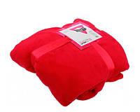 Плед микрофибра Underprice красный 160x200 см