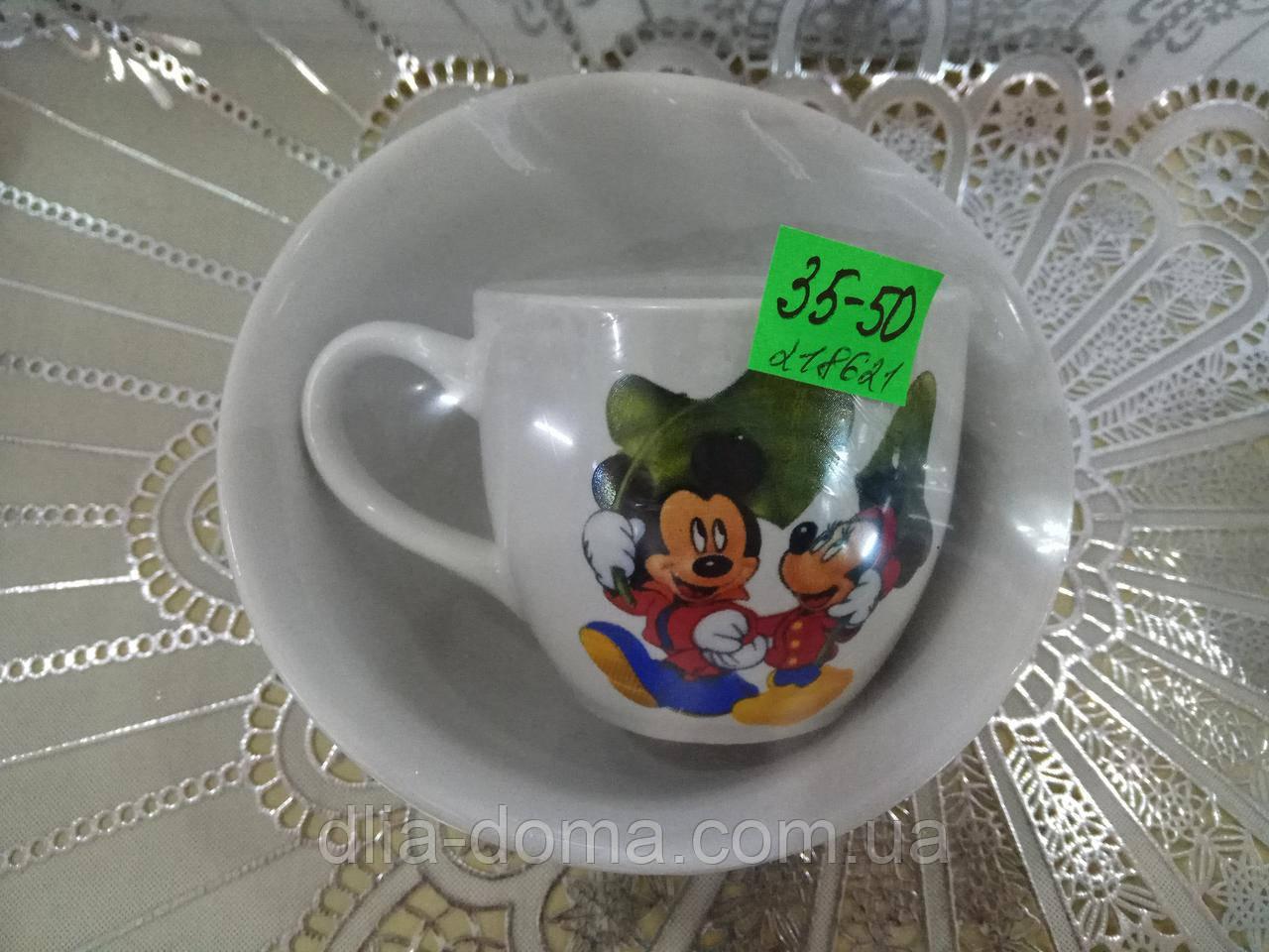 Набір дитячий Сумській (чашка+салатник)