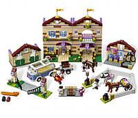 """Пластиковый конструктор Bela 10170 """"Школа верховой езды"""" аналог Lego 3185"""