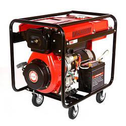 Дизельный генератор WEIMA WM7000CLE (7 кВт) 1фаза, электрост