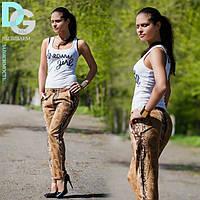 Стильные женские штаны питон Д 4 гл $ Код:91677040