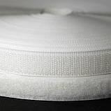 Лента-липучка, 3 см, цвет белый, 50 см, фото 3