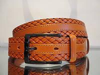 Классический кожаный ремень 05 Код:123723017