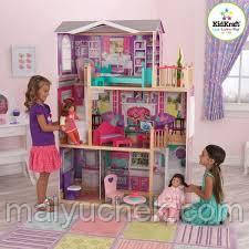 Кукольный домик KidKraft Elegant 18-Inch Doll Manor (65830)