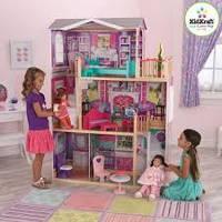Кукольный домик KidKraft Elegant 18-Inch Doll Manor (65830), фото 1