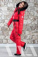 Комбинезон женский зимний Монклер 1207 ан Код:124300657