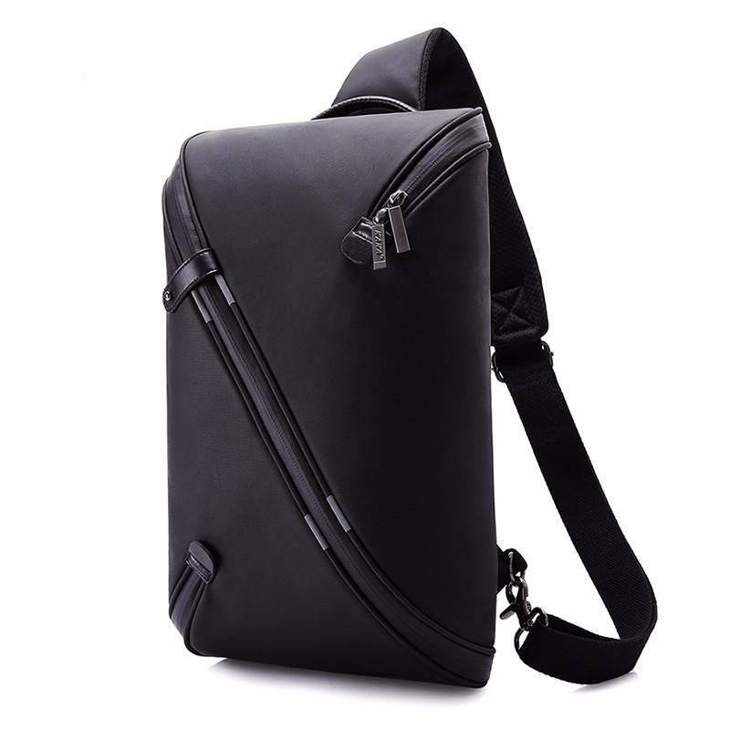 Водонепроницаемая сумка рюкзак через плечо Black Knight с USB