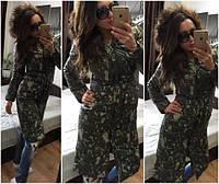 Пальто +на синтепоне женское Успех ян Код:128018176