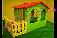 Детский игровой домик Mochtoys + подарок ( горка з надувным бассейном), фото 1