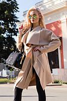 Пальто женское осень-весна Украина 7039 ш Код:148558824