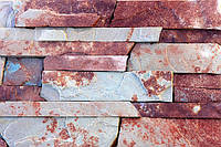 Тернопольский песчаник лапша красно-серый, фото 1