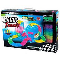 Гоночный трек Magic Tracks PT 236 светиться и гнется