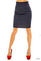 Юбка женская джинсовая 091 жан Код:255359738