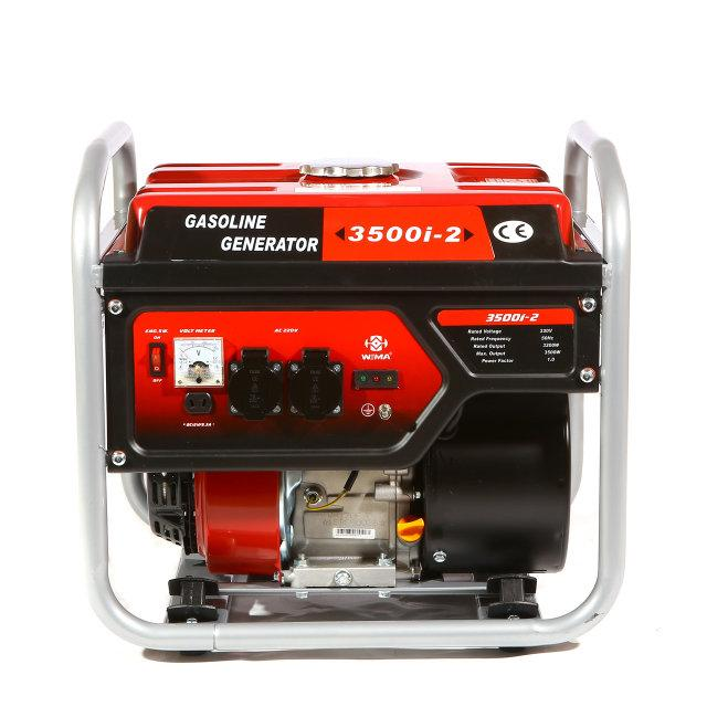Бензиновый генератор WEIMA 3500I-2 (3,5 кВт.,1 фаза)