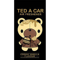 Ted A Car COOKIE VANILLA - освежитель воздуха