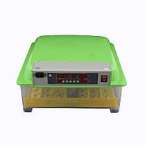 Инвекторный бытовой Инкубатор с автопереворотом MS-48 (48 куриных яиц), фото 3