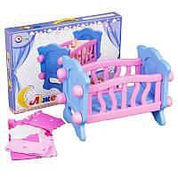 Кроватка - колыбель с бельем   ТЕХНОК