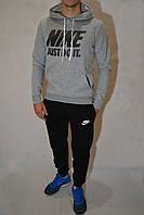 Комплект спортивная кофта и брюки Nike - светло-серый
