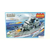 """Конструктор """"Военный корабль"""" COGO 3346"""