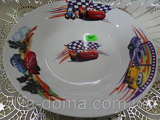 Тачки тарелка глубокая №8