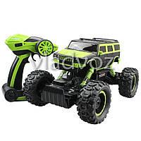 Джип машинка на радио управлении Rock Crawler зелёный Hummer 1:14