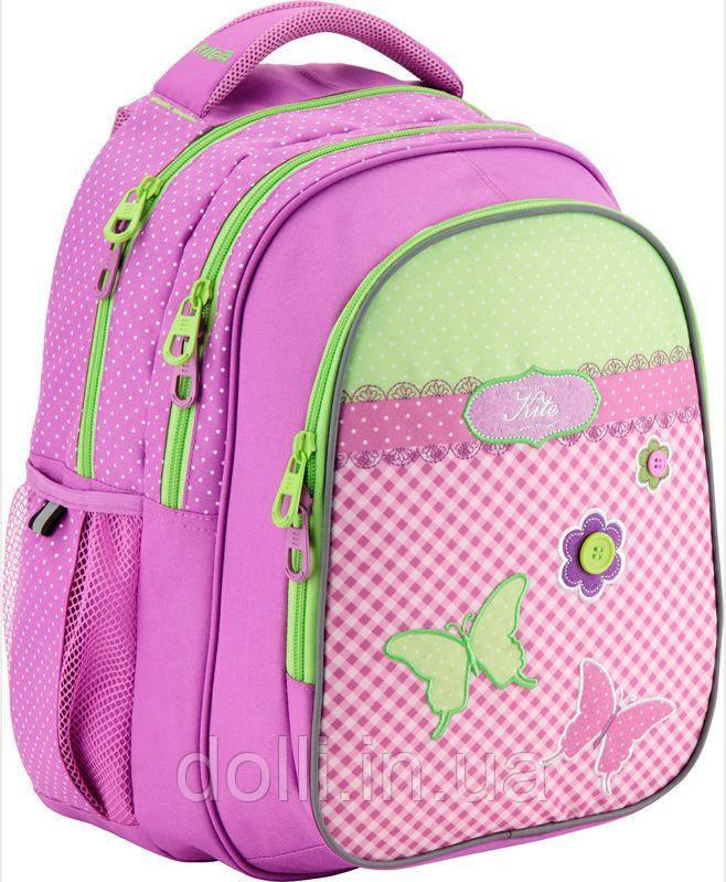 df6ddc5ca2c0 Рюкзак для девочек 8001 Junior-2 K17-8001M-2 Kite - Интернет магазин