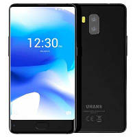 "Смартфон Uhans MX Black 2/16Gb, 8/2Мп, 4 ядра, 2sim, экран 5.2"" IPS, 3000mAh, GPS, 4G, Android 7.0, фото 1"