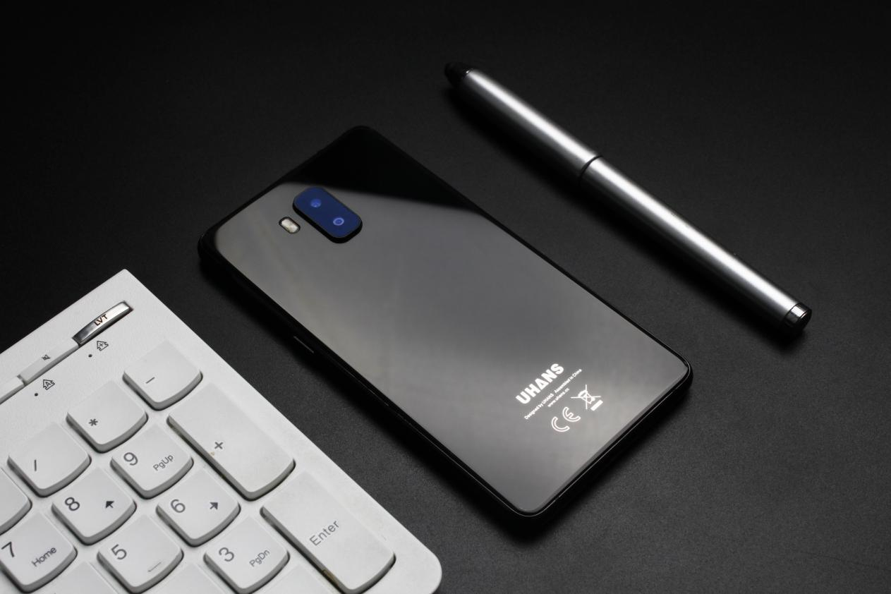 2cddde8c57711 Смартфон Uhans MX Black 2/16Gb, 8/2Мп, 4 ядра, 2sim, экран 5.2