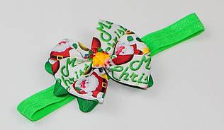 Тонкие новогодние повязки на голову высота 1,5 см