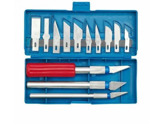Набор ножей со сменными лезвиями для резьбы TOPEX 3615, фото 2