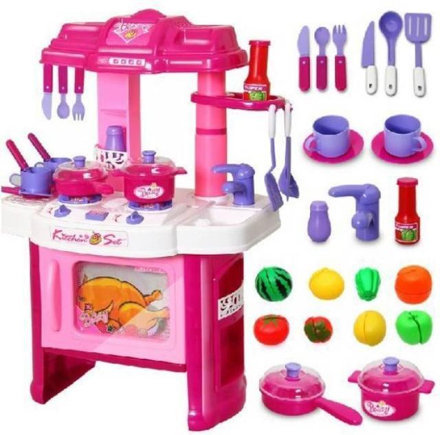 Кухня для девочек с акссесуарами 008-26