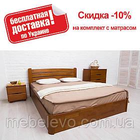 Кровать двуспальная София Люкс с подъемным механизмом 180 Олимп