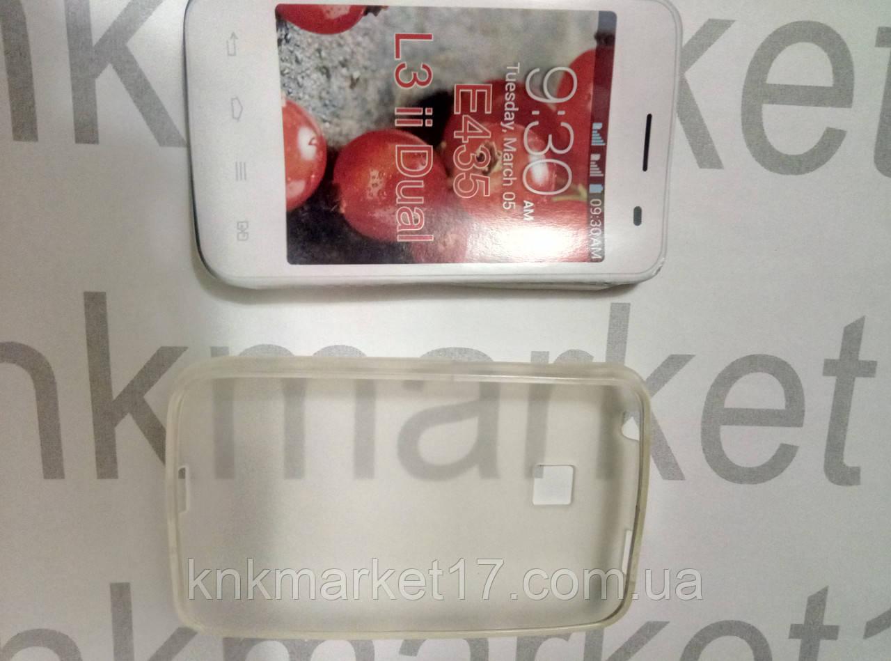 Силіконовий чохол для LG E435 L3 ii Dual