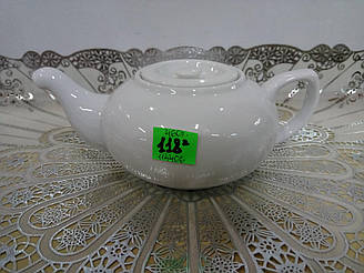 Чайник керамічний білий 460мл