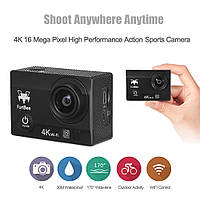 Экшн камера FuriBee F60 4k Black 3840 x 2160 900 мАч