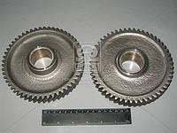 Шестерня промежуточная раздаточного вала, Z=53 (производство ММЗ) (арт. 240-1006240-А2), AGHZX