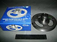 Шкив вала коленчатого ВАЗ 2101 (Производство ТЗА) 2101-1005060